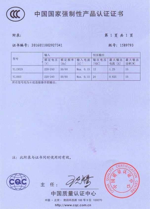 China Compulsory Certification | ilin-lighting
